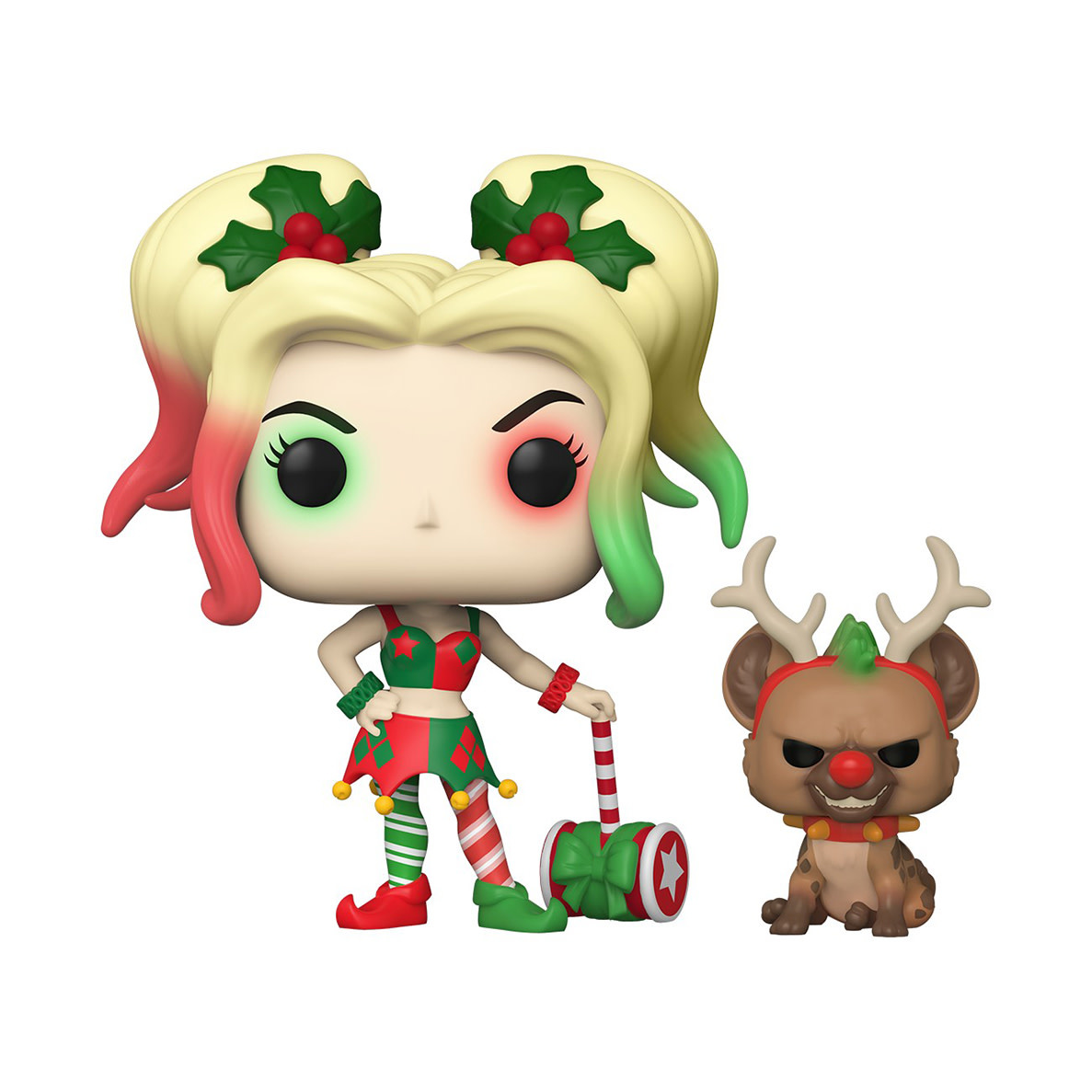 FUNKO Pop! and Buddy: DC Holiday - Harley Quinn with Helper
