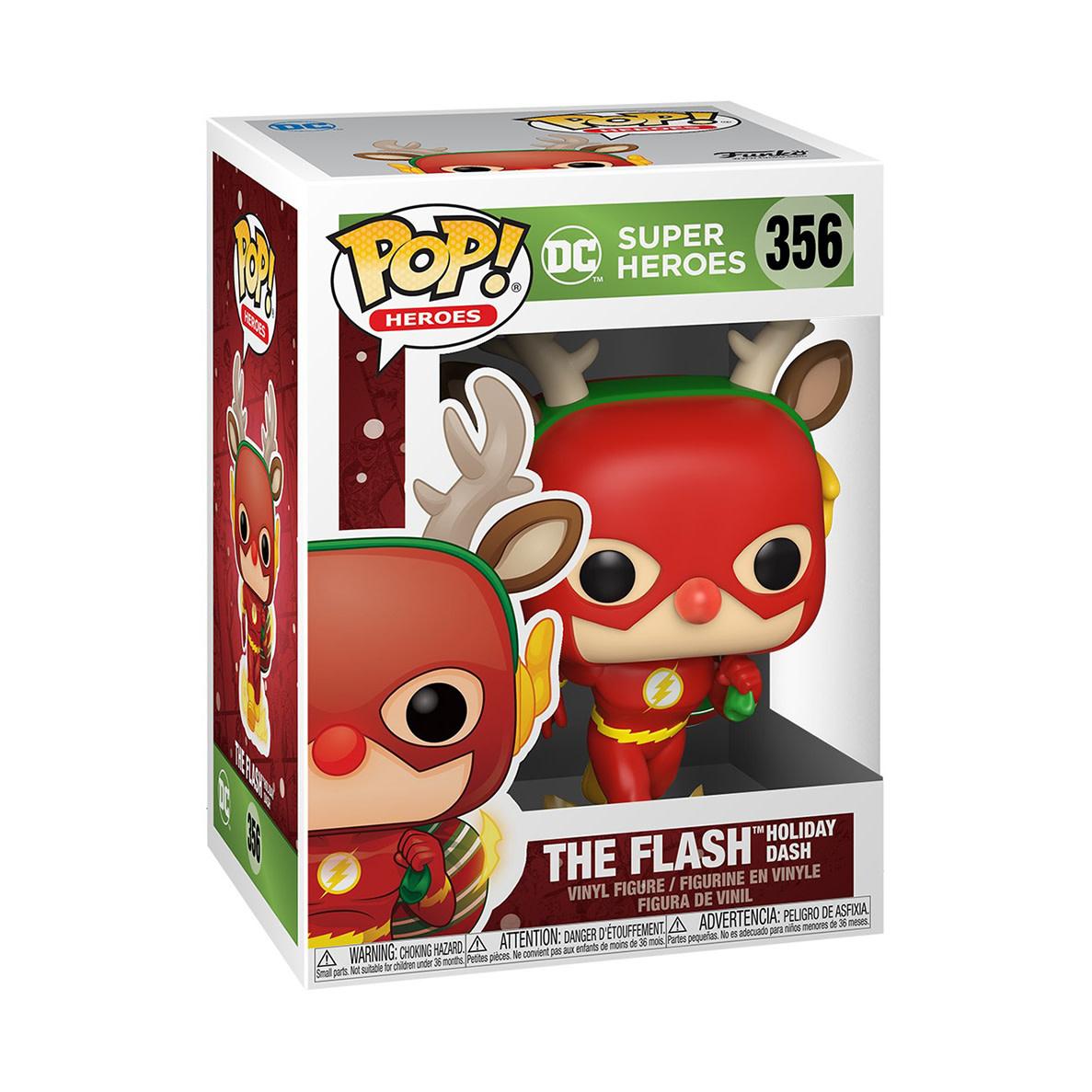 FUNKO Pop! DC: Holiday - Rudolph Flash