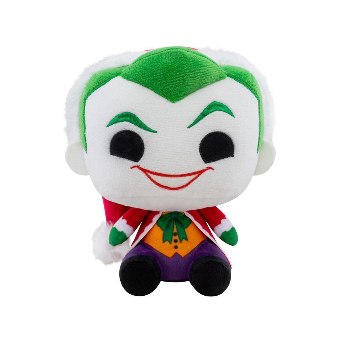 FUNKO Pop! Plush: DC Holiday - Santa Joker 7 inch Plush