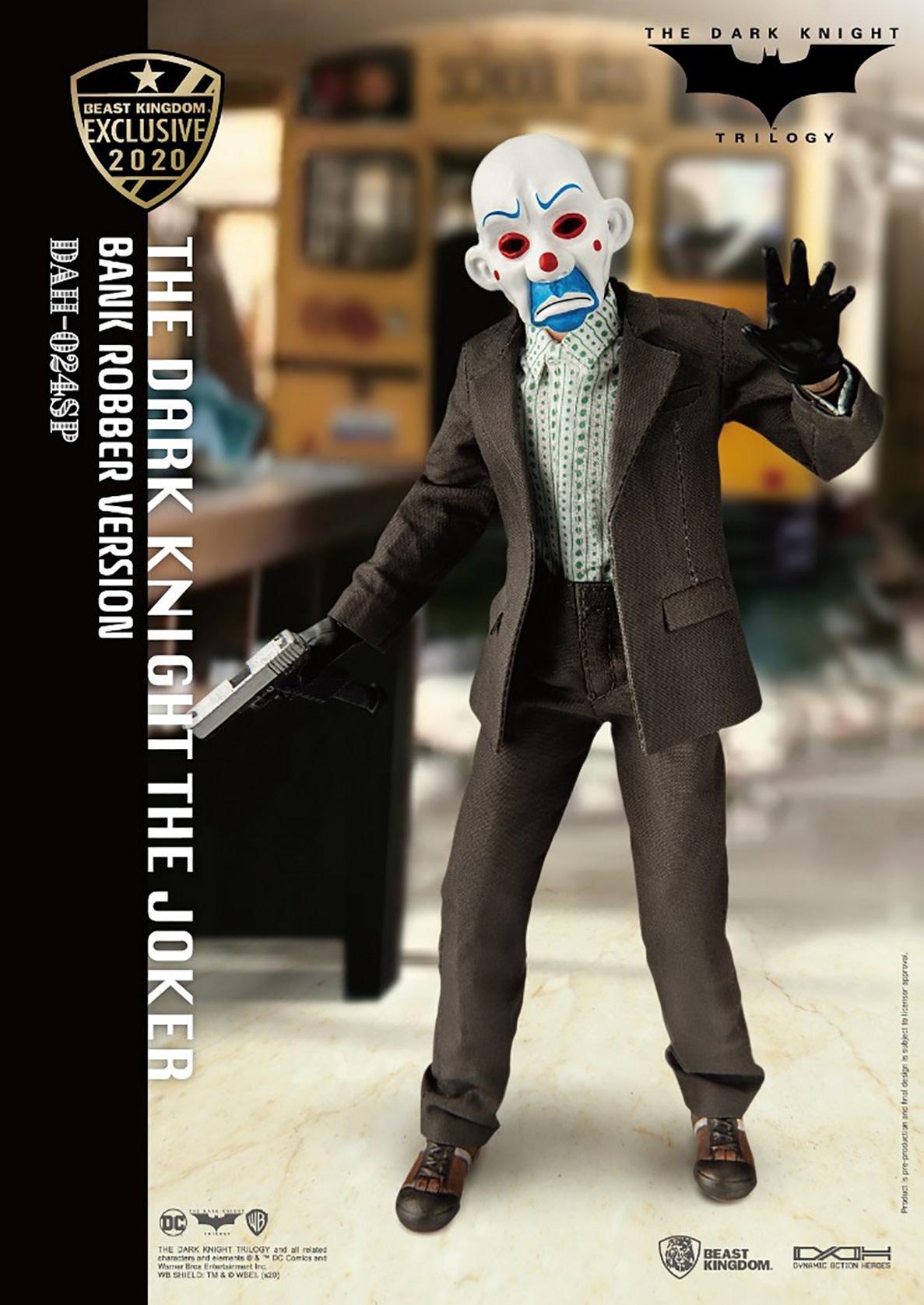 Beast Kingdom DC Comics: The Dark Knight - The Joker Bank Robber Version 1:9 Scale Action Figure