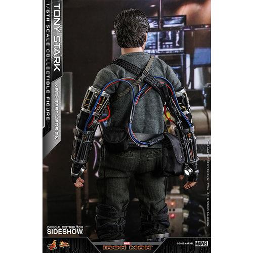 Hot toys Marvel: Iron Man - Deluxe Tony Stark Mech Test Version 1:6 Scale Figure