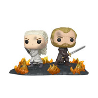 Pop! GoT: Movie Moments - Daenerys and Jorah Back to Back with Swords