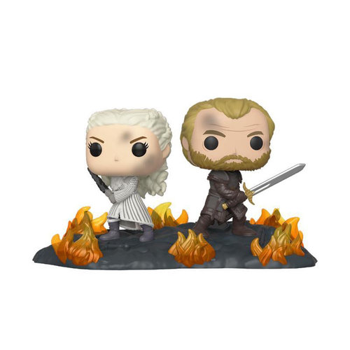 FUNKO Pop! GoT: Movie Moments - Daenerys and Jorah Back to Back with Swords