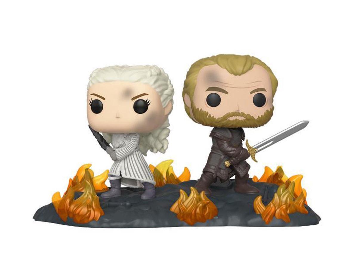 FUNKO Pop! GoT: Movie Moments - Daenerys and Jorah Back to Back with Swords