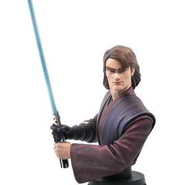 Diamond Select Star Wars - Clone Wars - Anakin Skywalker 1/7 Bust
