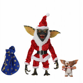 NECA Gremlins: Santa Stripe with Gizmo 7 inch Action Figure
