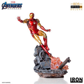 Iron Studios Marvel: Avengers Endgame - Deluxe Iron Man Mark LXXXV 1:10 Scale Stat.