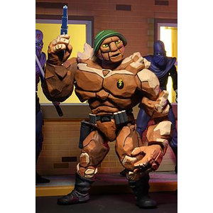 NECA TMNT: Cartoon Series 4 - Tragg and Grannitor 7 inch Action Figure 2 Pack