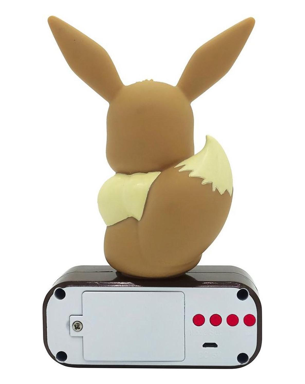Madcow Entertainment Pokémon Eeve Light - up 3D Figure Alarm Clock