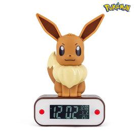 Madcow Entertainment Pokémon Eevee Light - up 3D Figure Alarm Clock