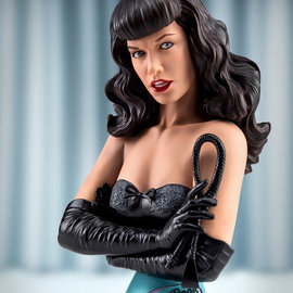 ARH Statues Queen of Pinups: Bettie Page 3:4 Scale Bust