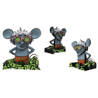 Keith Haring Andy Mouse Dynamic 8 inch Vinyl Figure