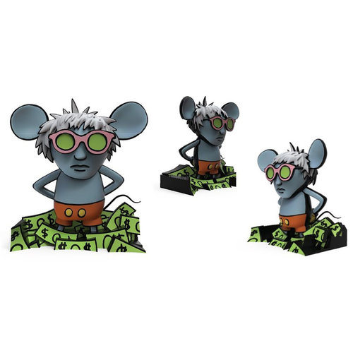 Kidrobot Keith Haring Andy Mouse Dynamic 8 inch Vinyl Figure