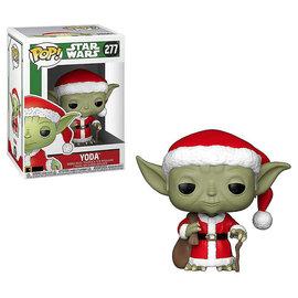 FUNKO Pop! Star Wars: Holiday - Santa Yoda