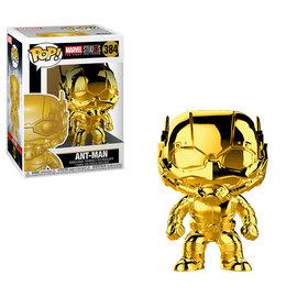 FUNKO Pop! Marvel -  Ant Man Chrome (Golden)