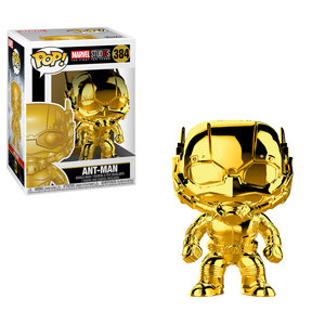 FUNKO Pop! Marvel -  Ant Man Chrome (Golden)