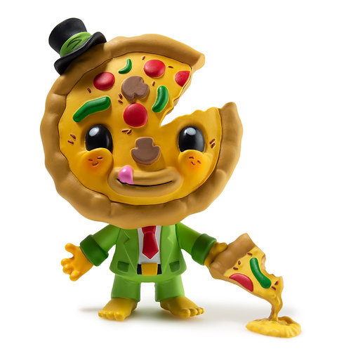 Kidrobot My Little Pizza 4 inch figure by Lyla and Piper Tolleson