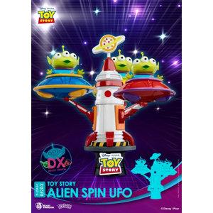 Beast Kingdom Disney: Toy Story Alien Spin UFO PVC Diorama