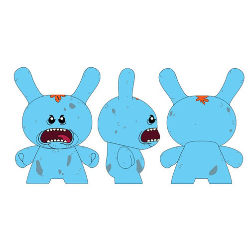 Kidrobot Rick and Morty: Mr. Meeseeks 8 inch Dunny