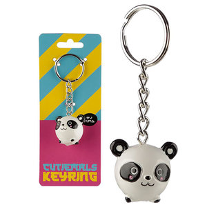 Puckator Cutiemals Panda Keyring