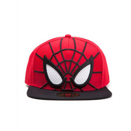 Difuzed Spider Man-Cap 3D Snapback with Mesh Eyes