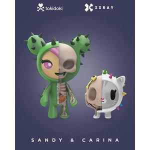 Fame Master Enterprise Ltd Tokidoki: Sandy + Carina X-Ray Figurine