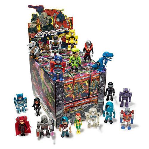Kidrobot Transformers vs G.I. Joe: Mini Series (Price per Piece)