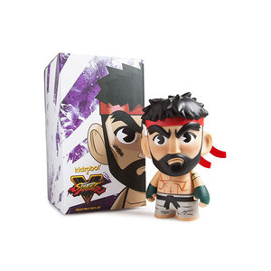 Kidrobot Street Fighter V: Hot Ryu Medium Figure