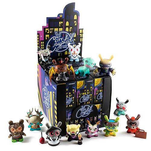 Kidrobot City Cryptid Dunny Series (Price per Piece)