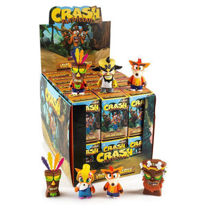 Kidrobot Crash Bandicoot: Mini Series (Price per Piece)