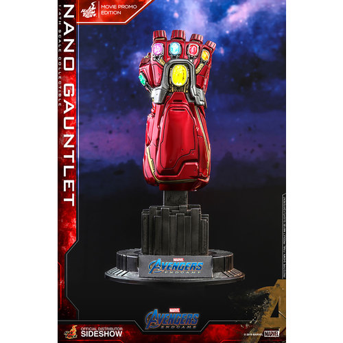 Hot toys Marvel: Avengers Endgame - Movie Promo Edition Nano Gauntlet 1:4 Scale