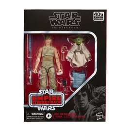 HASBRO Star Wars: The Black Series - Luke Skywalker and Yoda