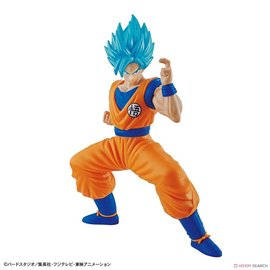Bandai Hobby Dragon ball: Entry Grade Super Saiyan God SS Goku - Model Kit