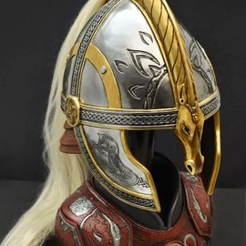 United Cutlery Lord of the Rings: Helm of Eomer 1:1 Scale Replica