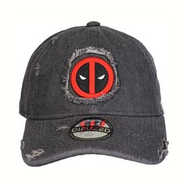 Difuzed Marvel - Deadpool Ripped Adjustable Snapback