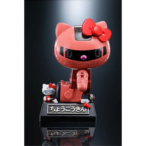 Bandai Zaku  II Char Hello  Kitty  Chogokin