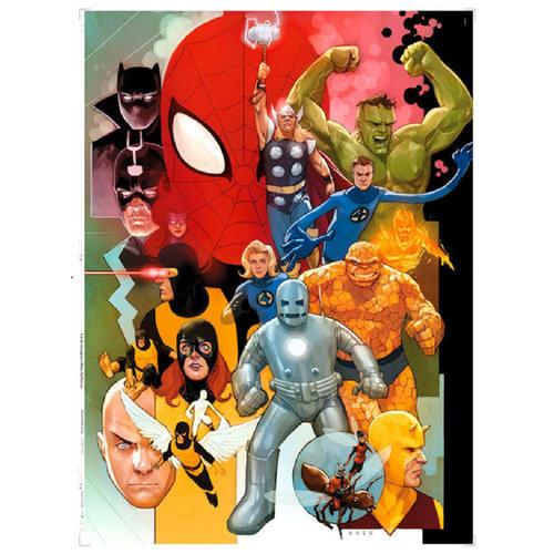 Clementoni Marvel 80 Years puzzle 1000pcs