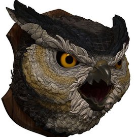 wizkids Dungeons and Dragons: Owlbear Trophy Plaque