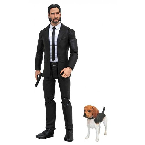 DIAMOND SELECT TOYS John Wick with Daisy Action Figure