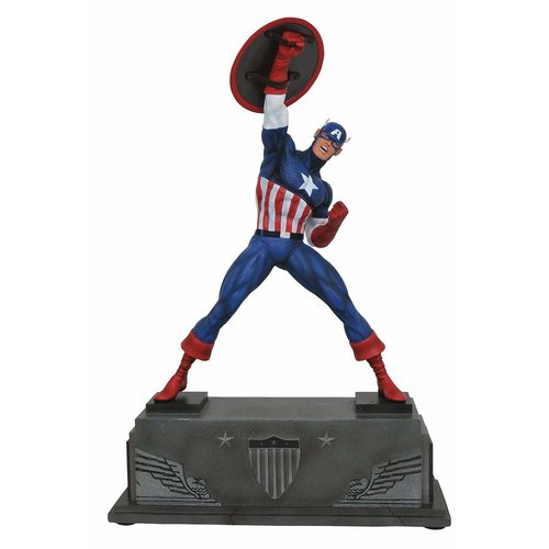 DIAMOND SELECT TOYS Marvel Premier Collection: Captain America Statue
