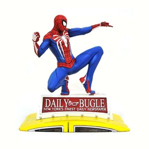 DIAMOND SELECT TOYS Marvel Gallery: Spider-man on Taxi