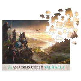 Dark Horse Assassins Creed: Valhalla - Planning Assault Puzzle 1000pzs