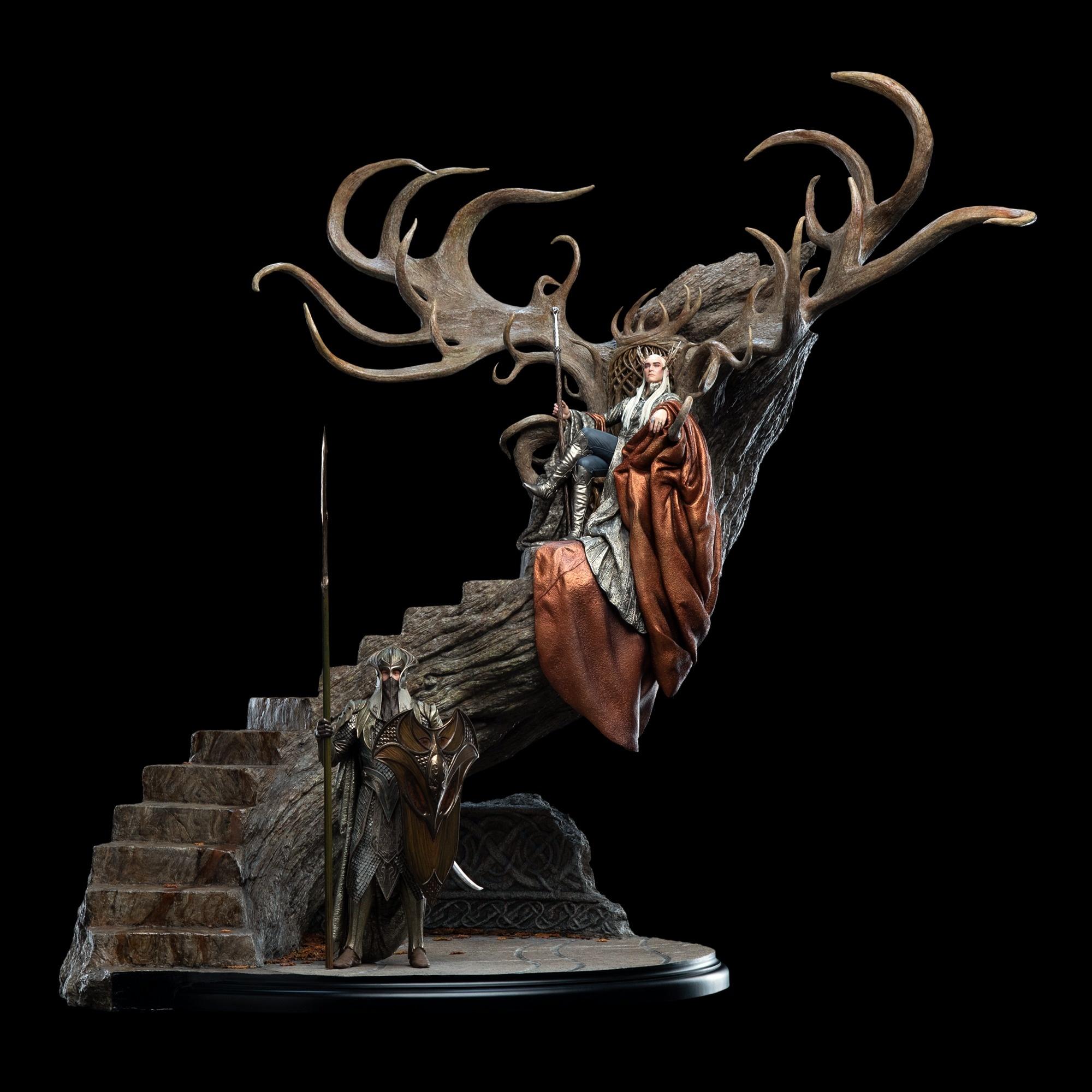Weta  brengt een nieuwe Master Collection  de  Thranduil,  The Woodland King
