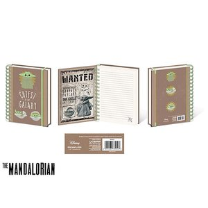 Hole In The Wall Star Wars: The Mandalorian - The Child Cutest In The Galaxy - A5 Notebook