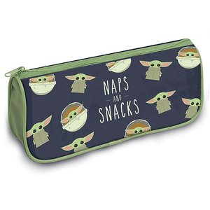 Hole In The Wall The Mandalorian - The Child Naps And Snacks - Pencil Case
