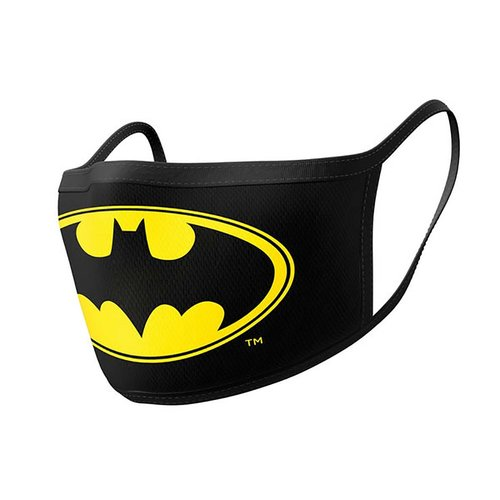 Hole In The Wall Batman Logo - Facemask (x2)