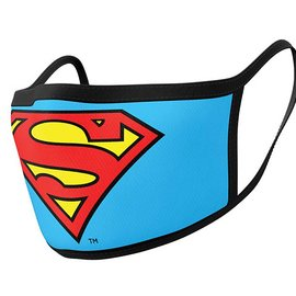 Hole In The Wall Superman Logo - Facemask (x2)