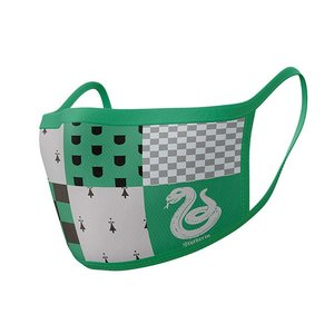 Hole In The Wall Harry Potter Slytherin - Facemask (x2)