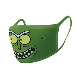 Hole In The Wall Rick And Morty Pickle Rick - Facemask (x2)