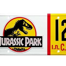 doctor collector Jurassic Park: Dennis Nedry License Plate Replica